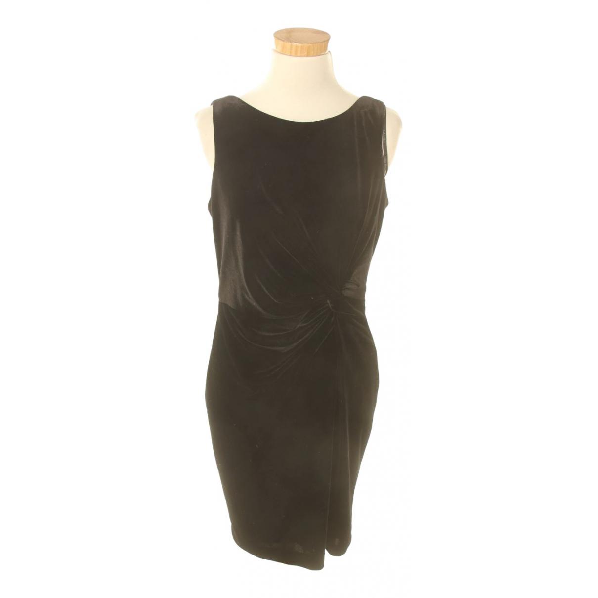 Calvin Klein \N Kleid in  Schwarz Samt
