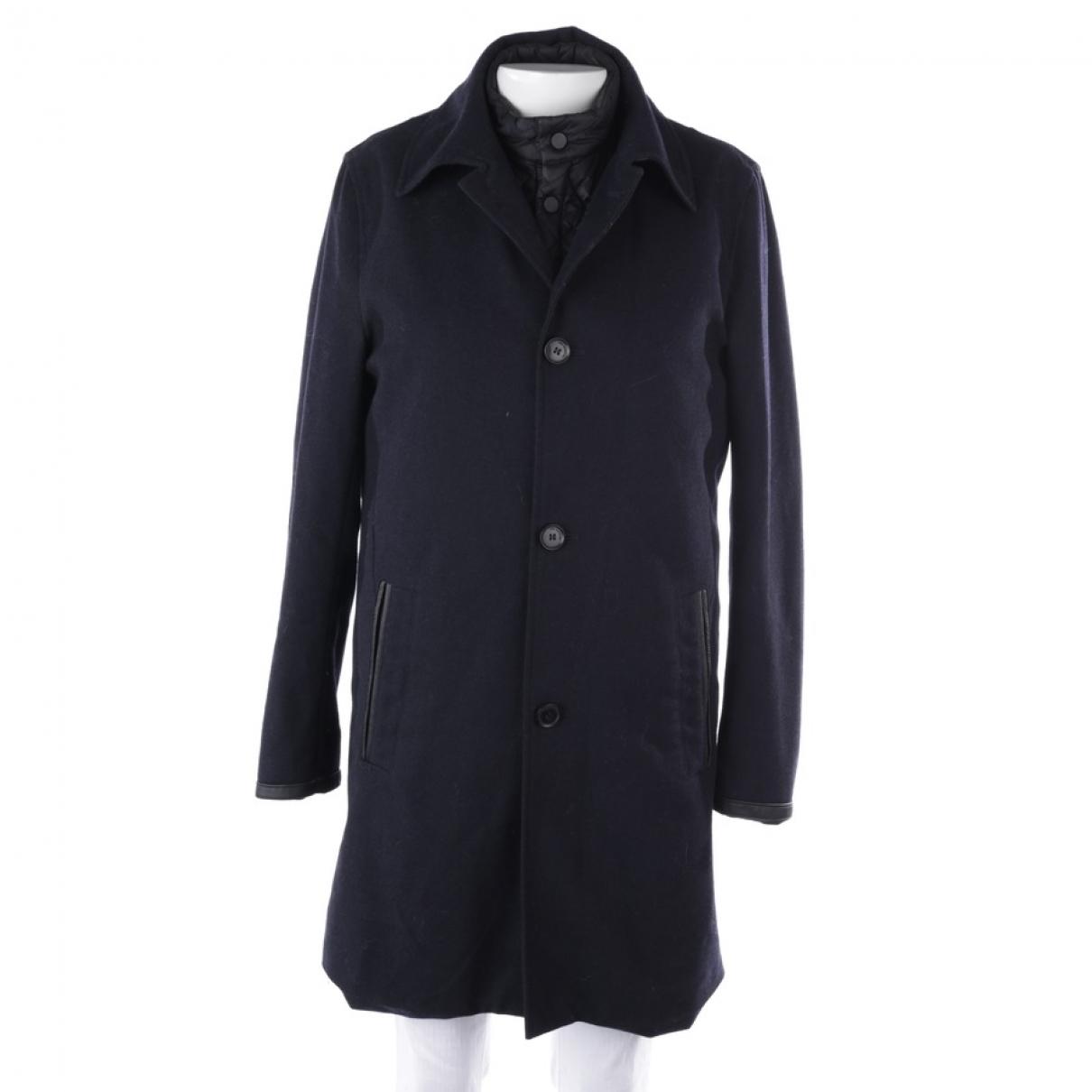 The Kooples \N Blue Wool coat for Women 40 FR