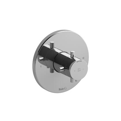 Riu TRUTM44BN 2-Way No Share Thermostatic/Pressure Balance Coaxial Valve Trim  in Brushed