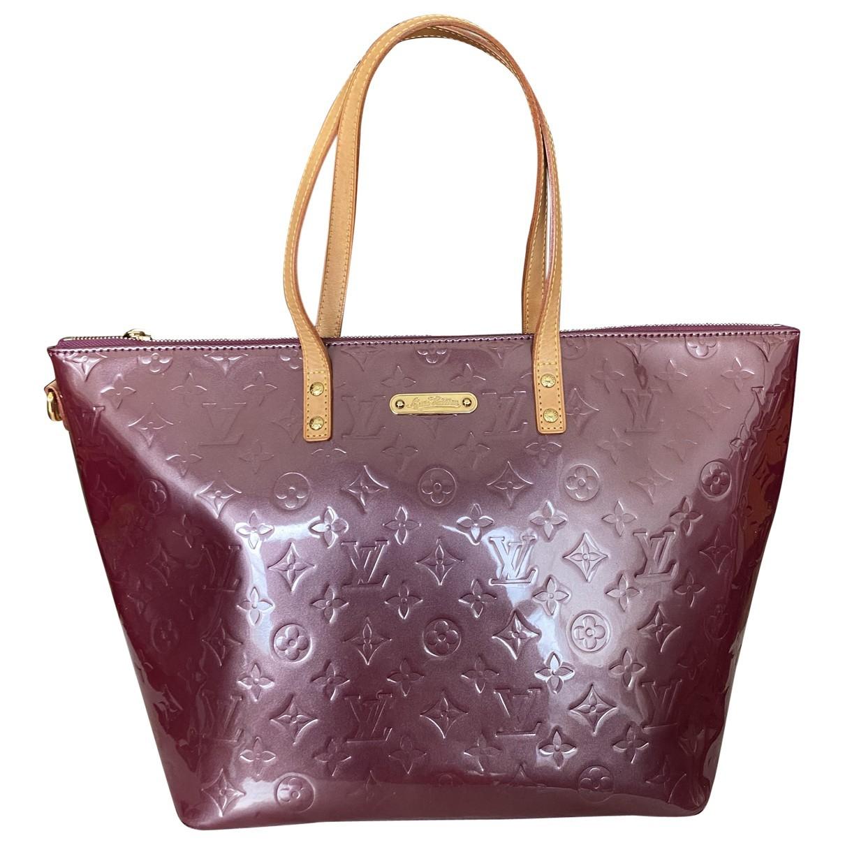 Louis Vuitton Bellevue Burgundy Patent leather handbag for Women \N