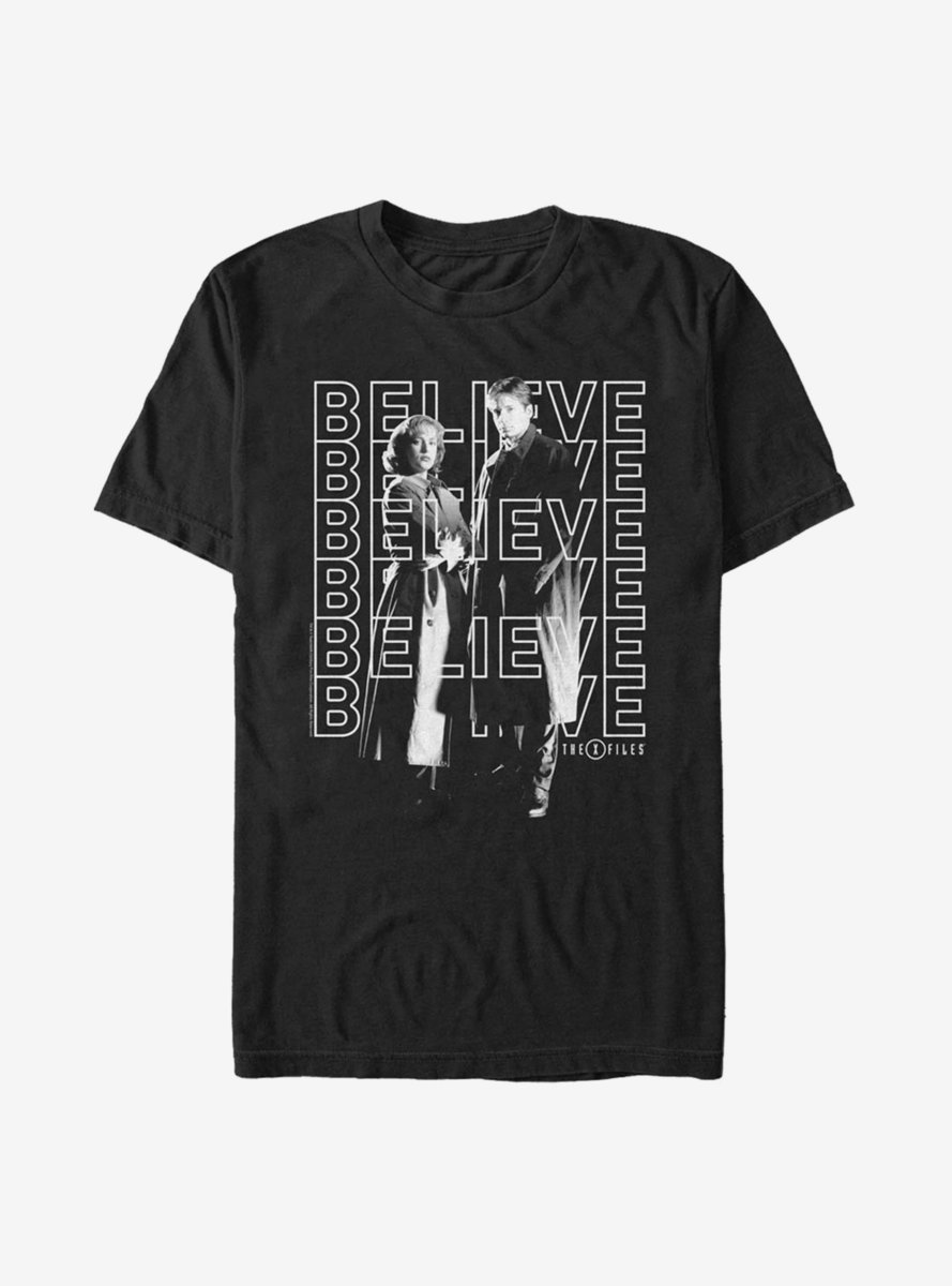 The X-Files Repeating Believe T-Shirt