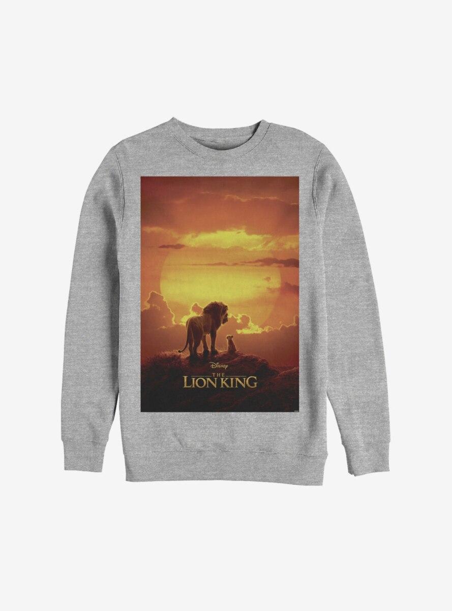 Disney The Lion King 2019 Pride Rock Poster Sweatshirt