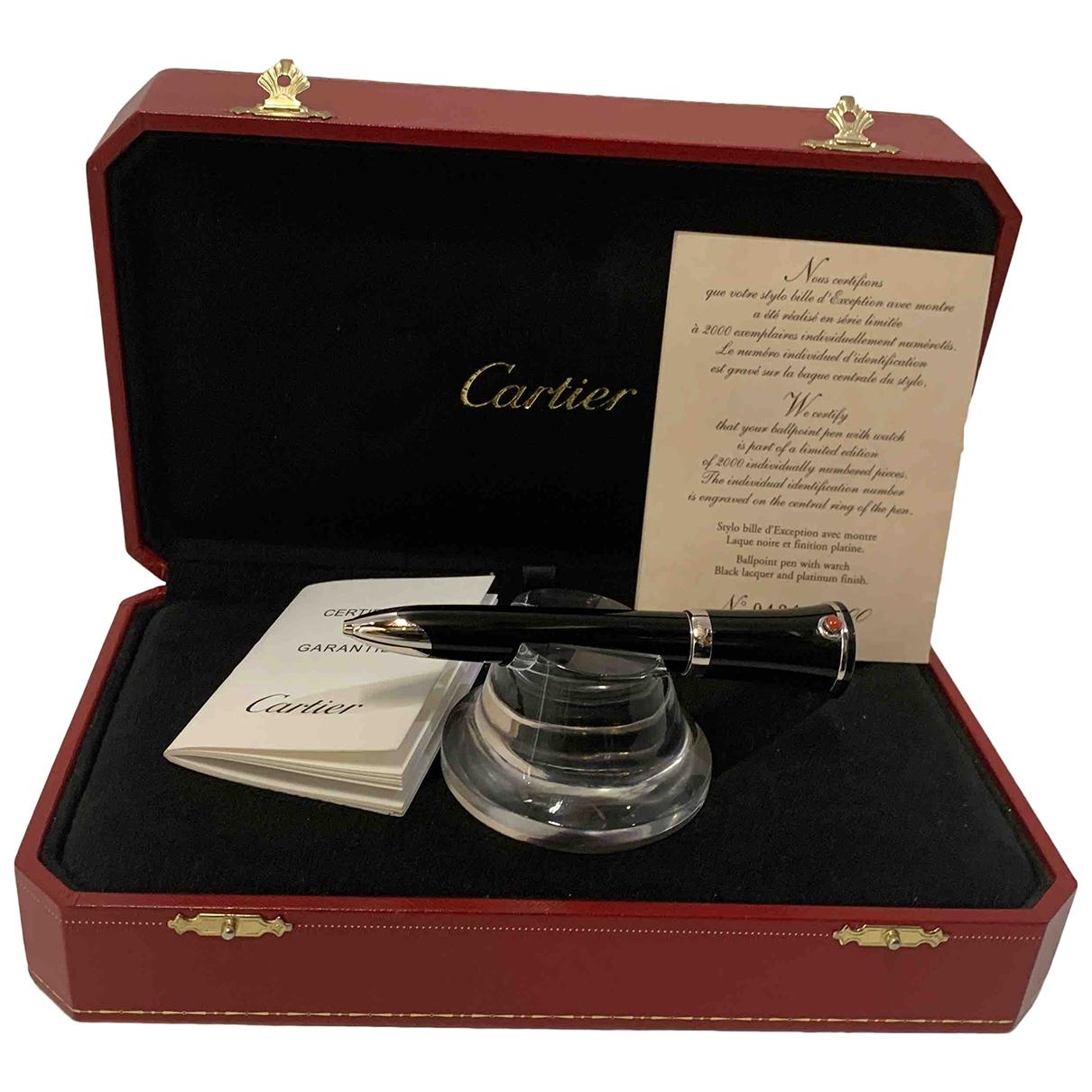 Cartier - Objets & Deco   pour lifestyle en metal - noir