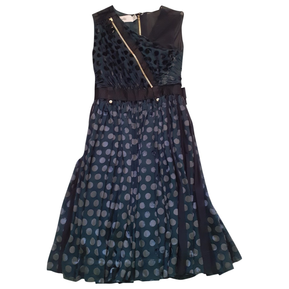 Luella \N Kleid in  Blau Synthetik