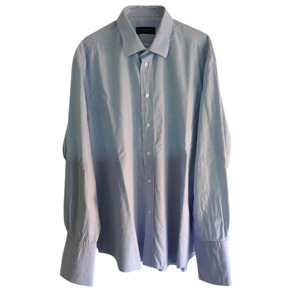 Dior \N Cotton Shirts for Men 43 EU (tour de cou / collar)