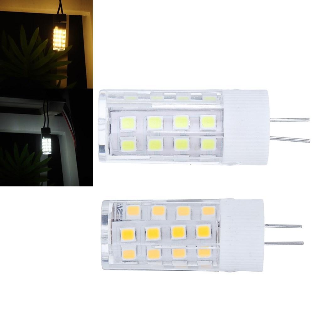 AC/DC12V G4 3W SMD2835 No Flicker Ceramic 35LED Corn Light Bulb for Chandelier Indoor Home Use