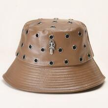Sombrero cubo con ojal