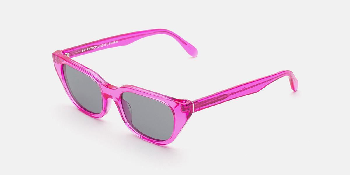 Retrosuperfuture CENTO STRAPAZZO IGK1 KS0 Men's Sunglasses Pink Size 51