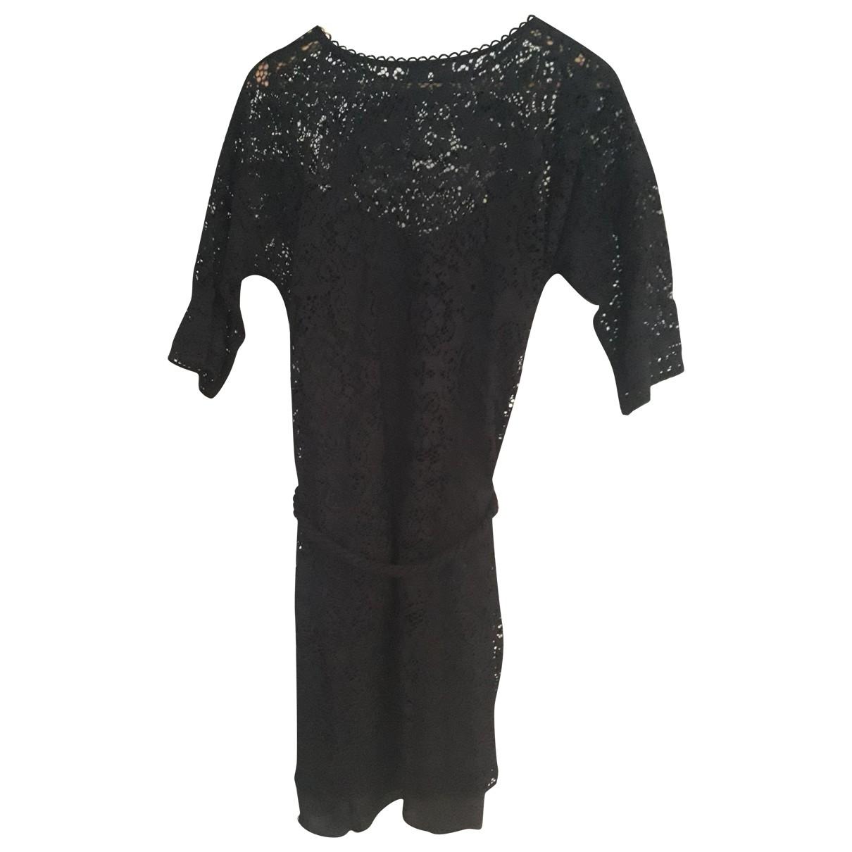 Masscob \N Kleid in  Schwarz Polyester