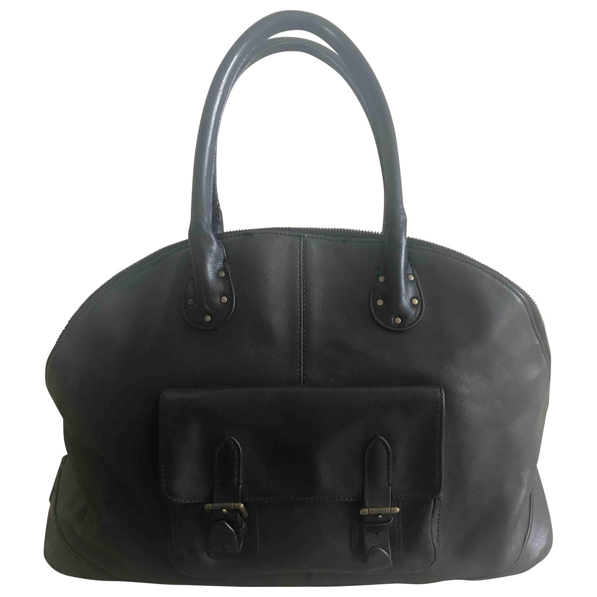 Bolso boston de Cuero Ralph Lauren