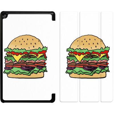 Amazon Fire HD 8 (2018) Tablet Smart Case - Burger  von caseable Designs