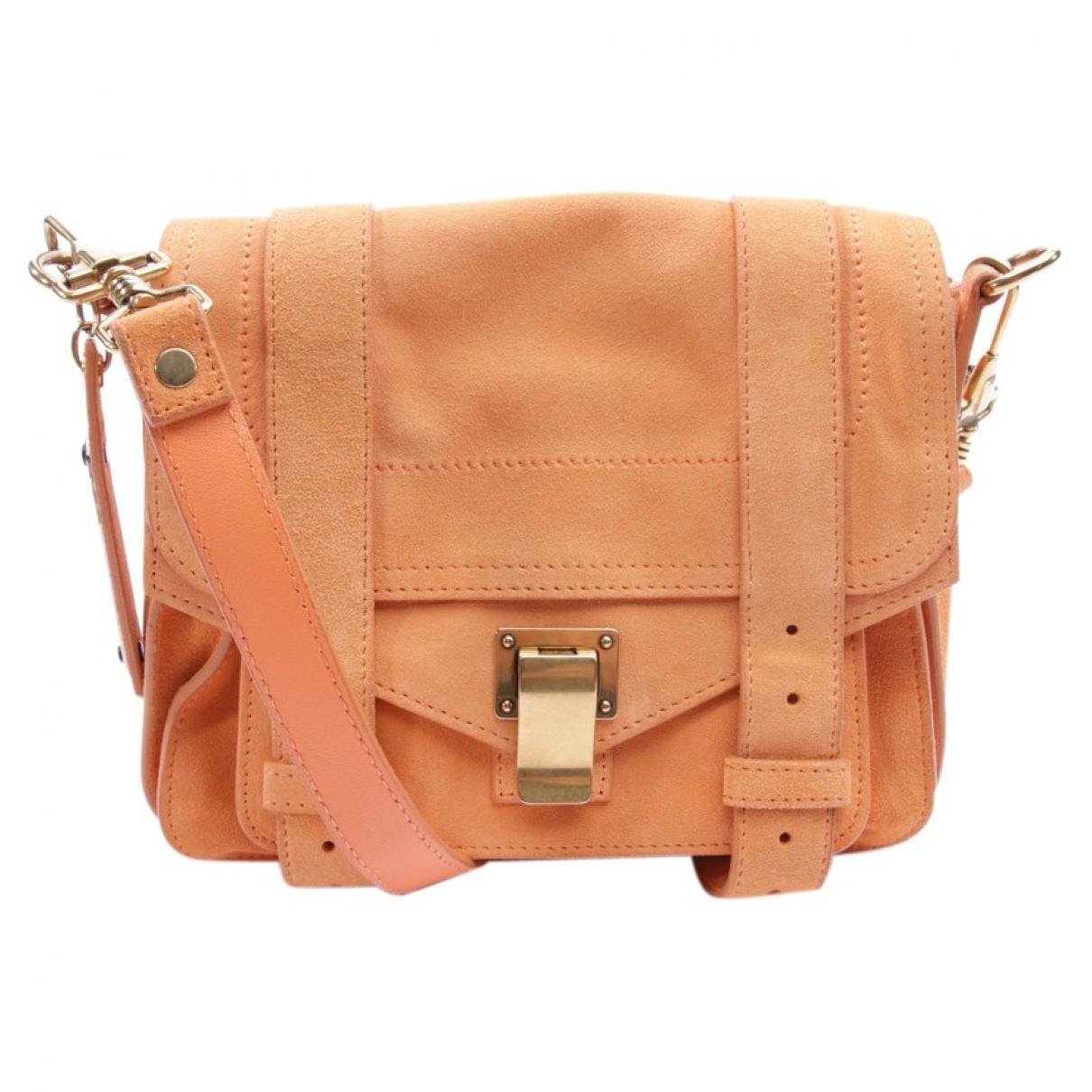 Proenza Schouler \N Orange Leather handbag for Women \N