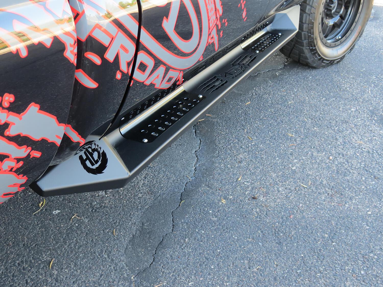 Addictive Desert Design HoneyBadger Side Steps Chevrolet Silverado 2500 Crew Cab 15-16