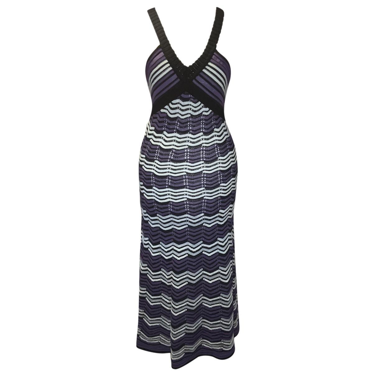 M Missoni \N Purple Cotton dress for Women 42 IT
