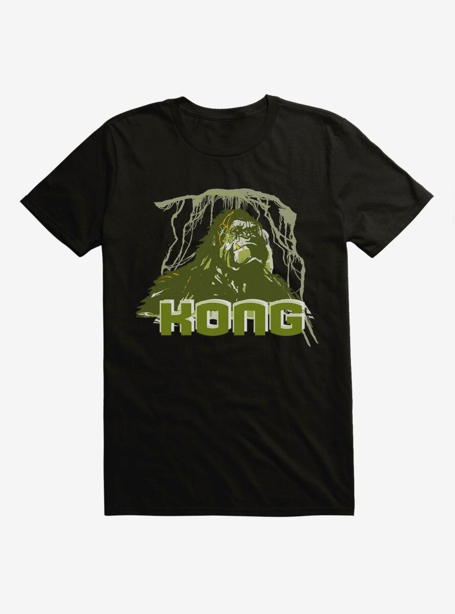 King Kong Green Close Up T-Shirt
