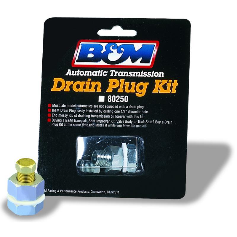 B&M Drain Plug Kit - Universal
