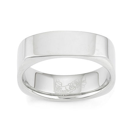 Stainless Steel Band Ring, 8 , No Color Family