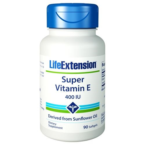Natural Vitamin E 90 Sgels by Life Extension