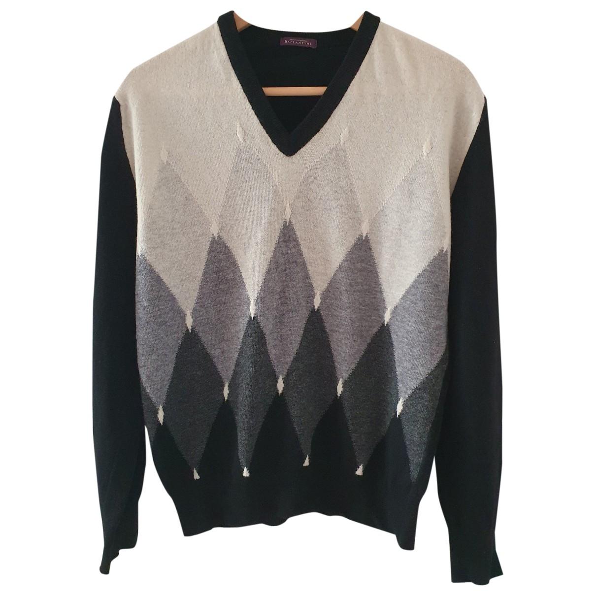 Ballantyne - Pull   pour femme en laine - noir