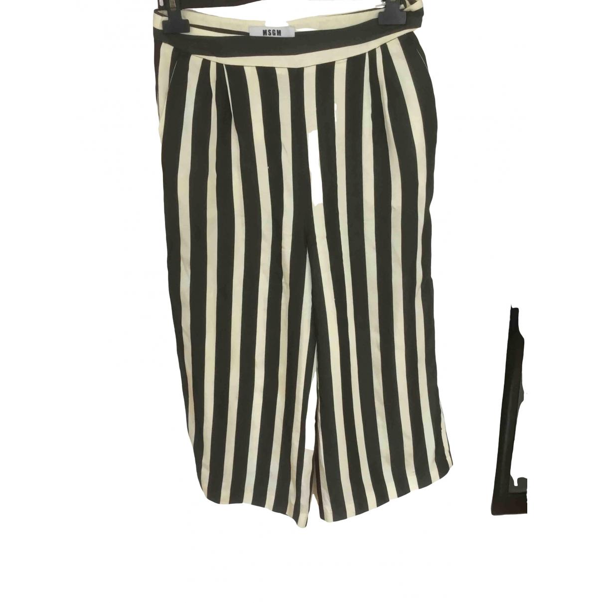 Pantalon en Viscosa Msgm