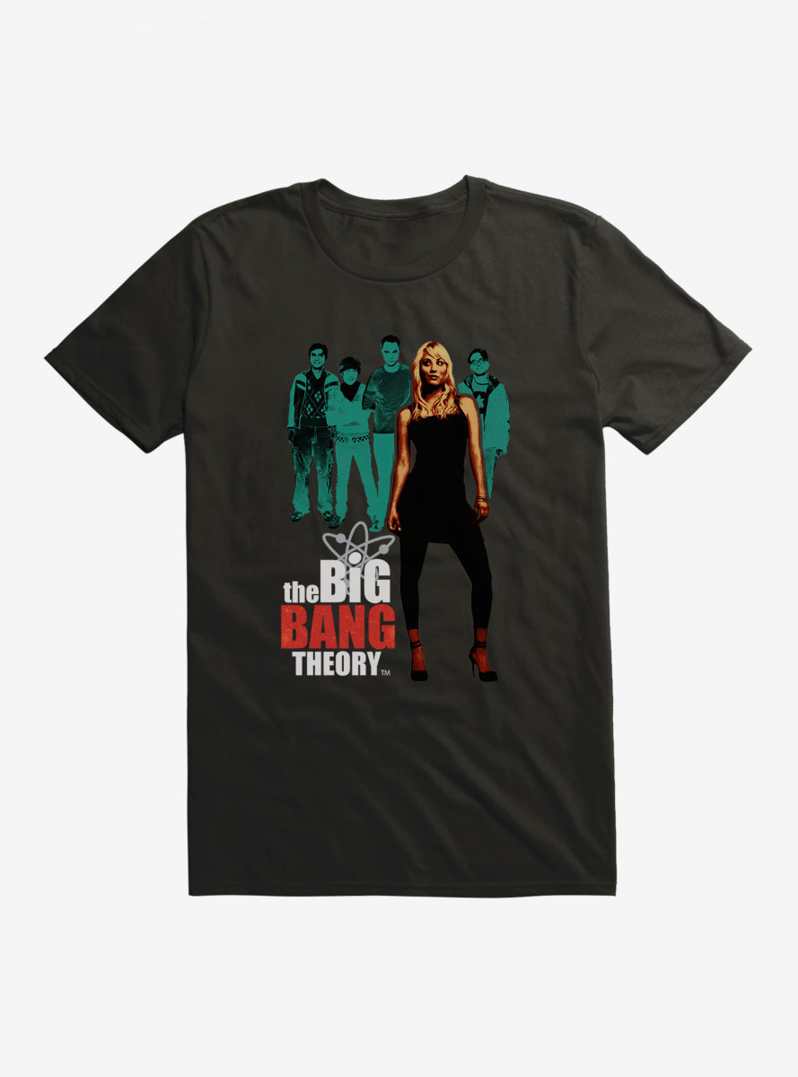 The Big Bang Theory Center Of Attention Penny T-Shirt