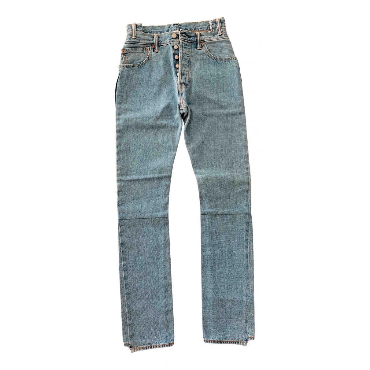 Vetements N Blue Denim - Jeans Jeans for Women S International