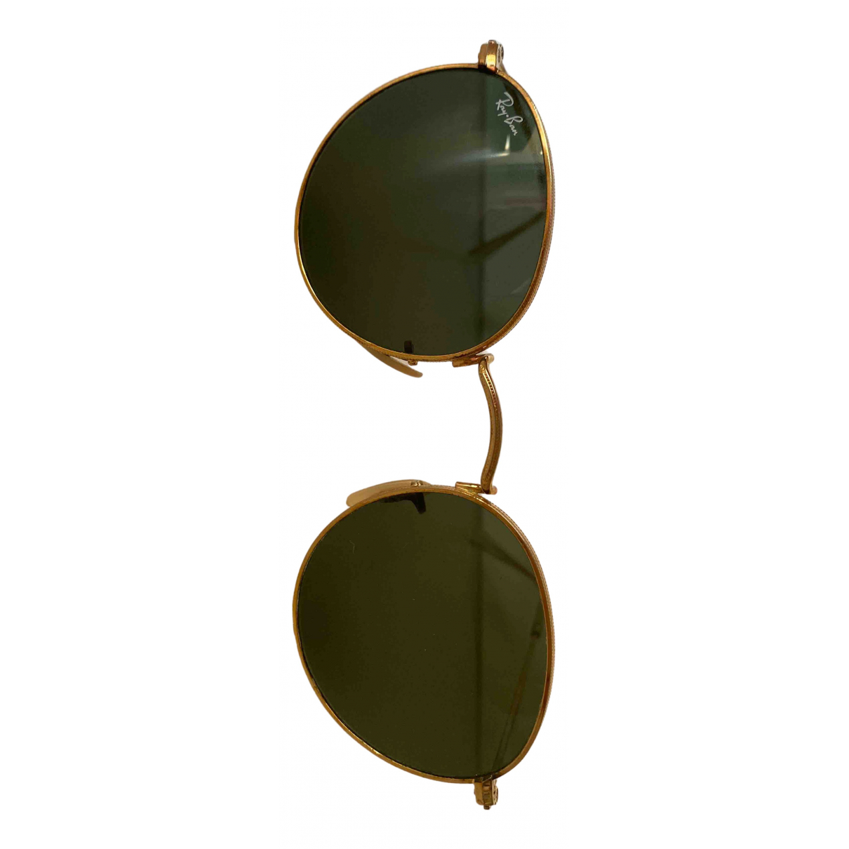 Ray-ban Round Green Metal Sunglasses for Women \N