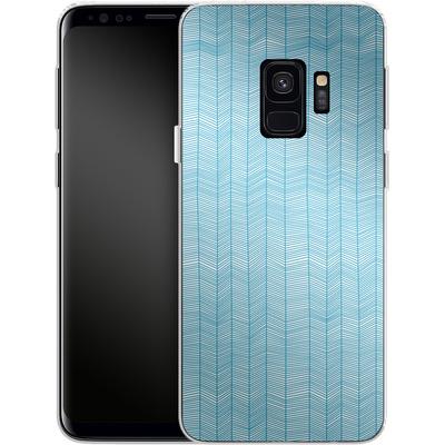 Samsung Galaxy S9 Silikon Handyhuelle - Fishbone von caseable Designs