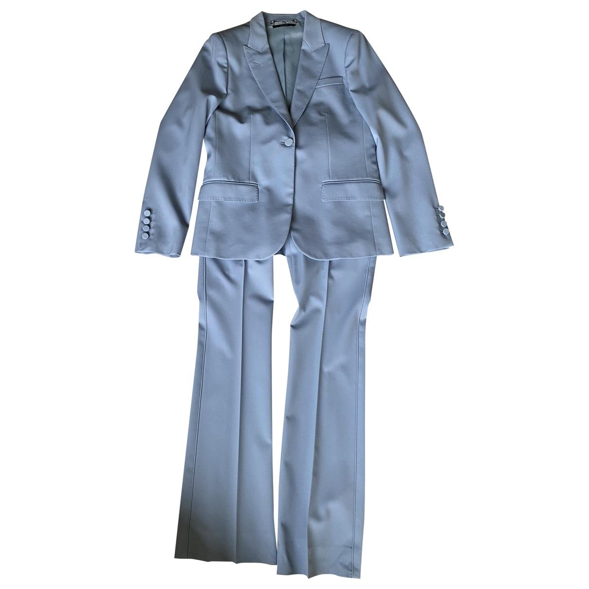 Gucci \N Blue Wool jacket for Women 42 IT