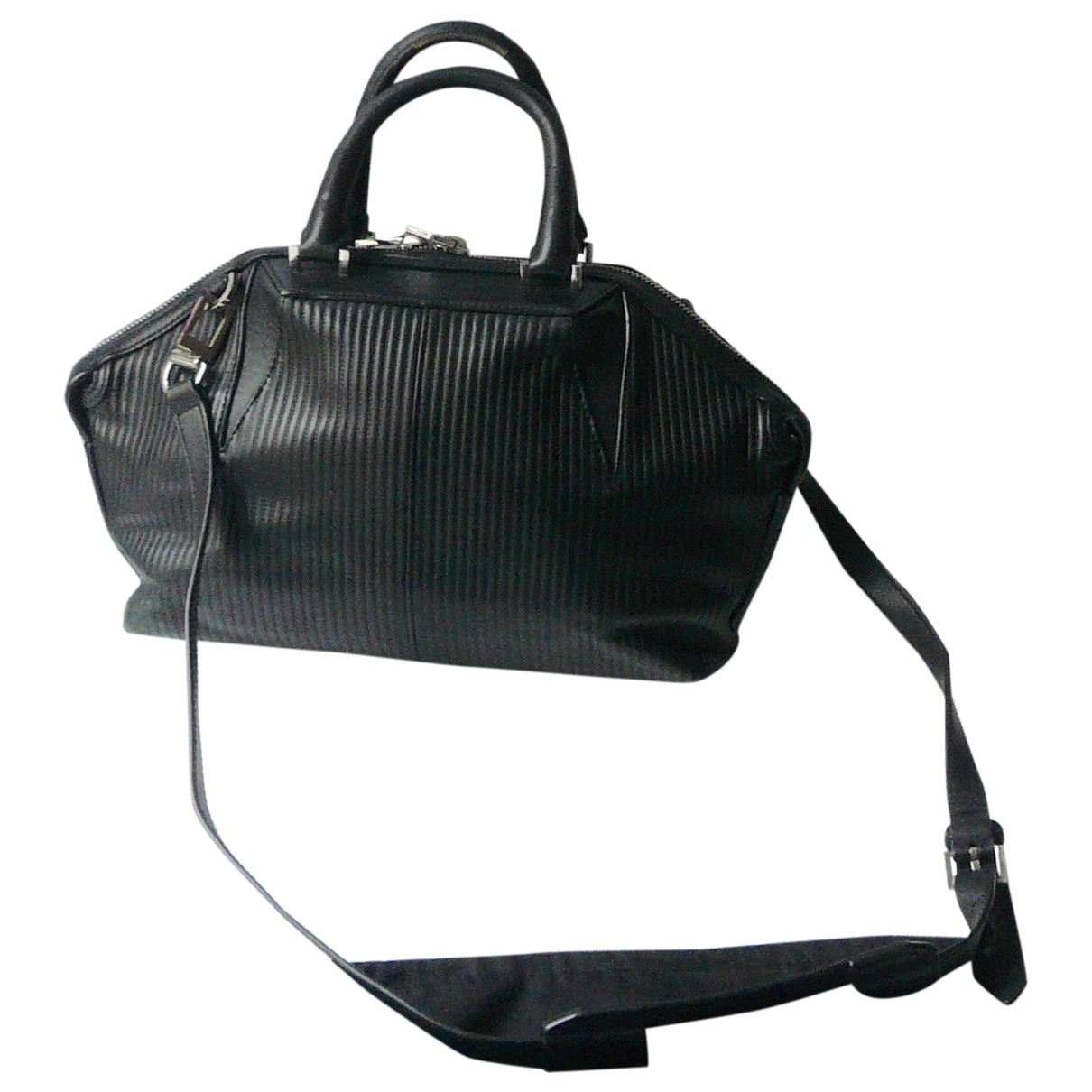 Alexander Wang Emile Black Leather handbag for Women \N
