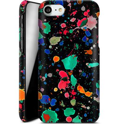 Apple iPhone 8 Smartphone Huelle - Colourful Splatter von Amy Sia