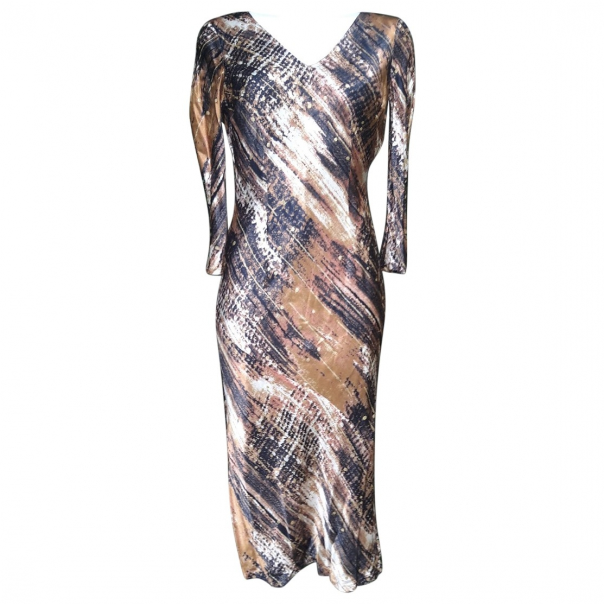 Mariella Rosati \N Kleid in  Bunt Viskose