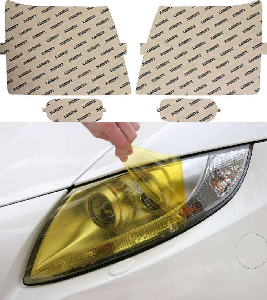 Cadillac Escalade 03-06 Yellow Headlight Covers Lamin-X CD002Y