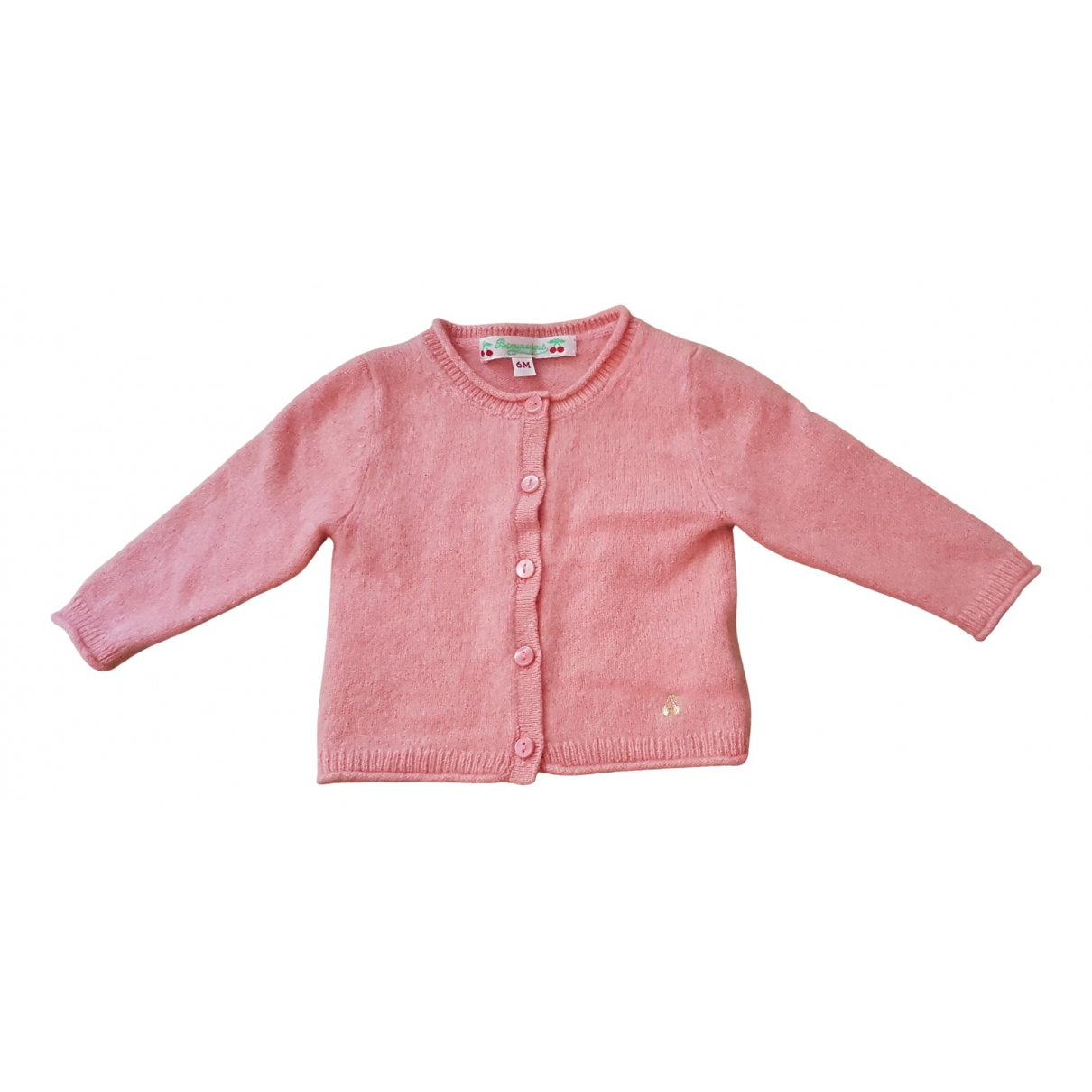 Bonpoint \N Pink Cashmere Knitwear for Kids 6 months - up to 67cm FR