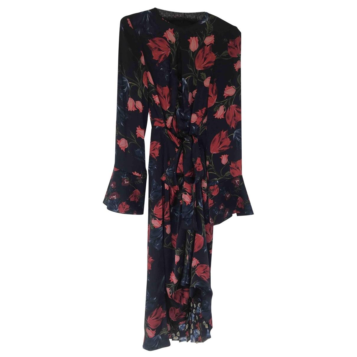 MOf Pearl \N Navy Silk dress for Women 10 UK