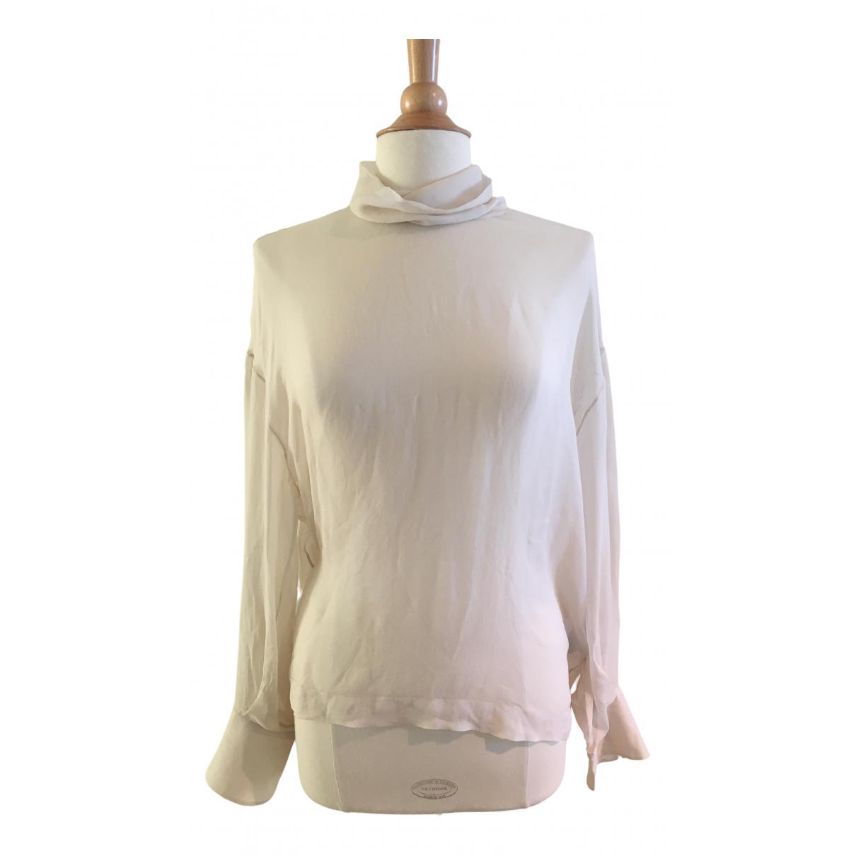 Brunello Cucinelli N Beige Silk  top for Women L International