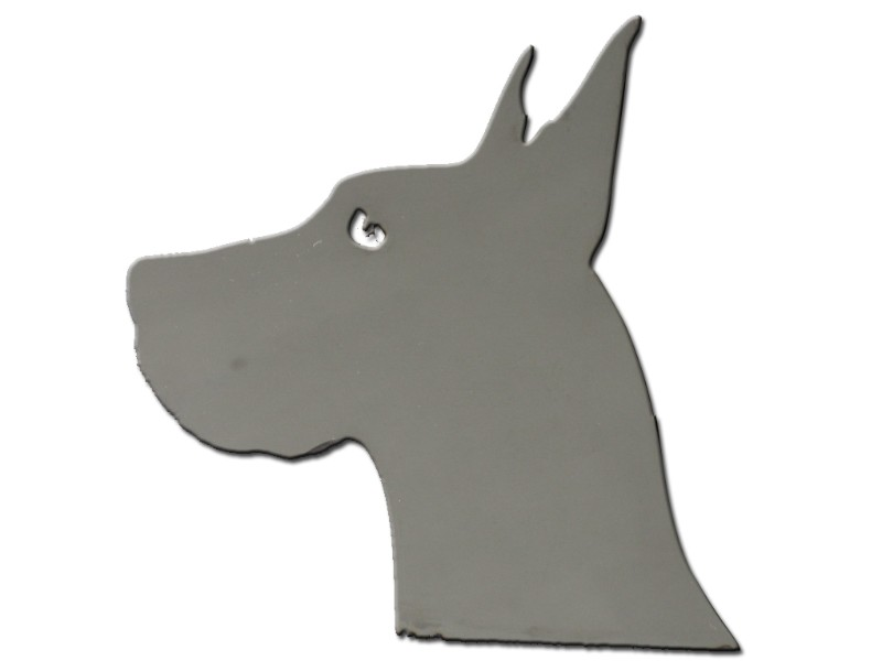 Quality Automotive Accessories Universal Decal Great Dane Head