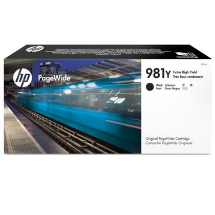 HP 981Y L0R16A cartouche dencre PageWide originale noire extra haute capacité