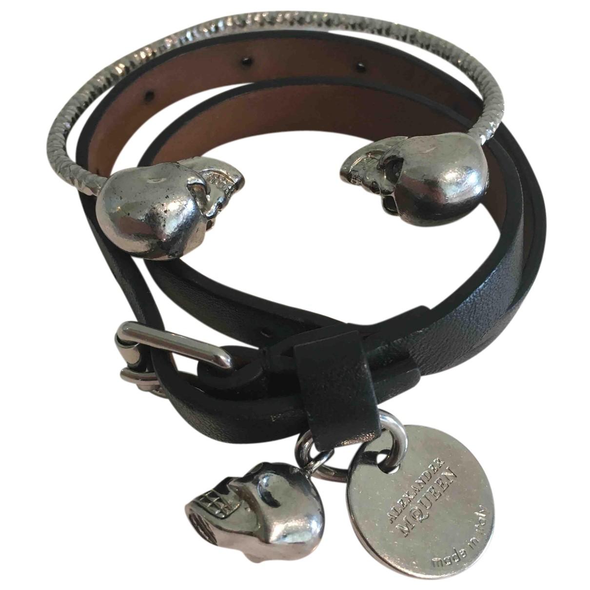 Alexander Mcqueen - Bracelet   pour femme en metal - metallise