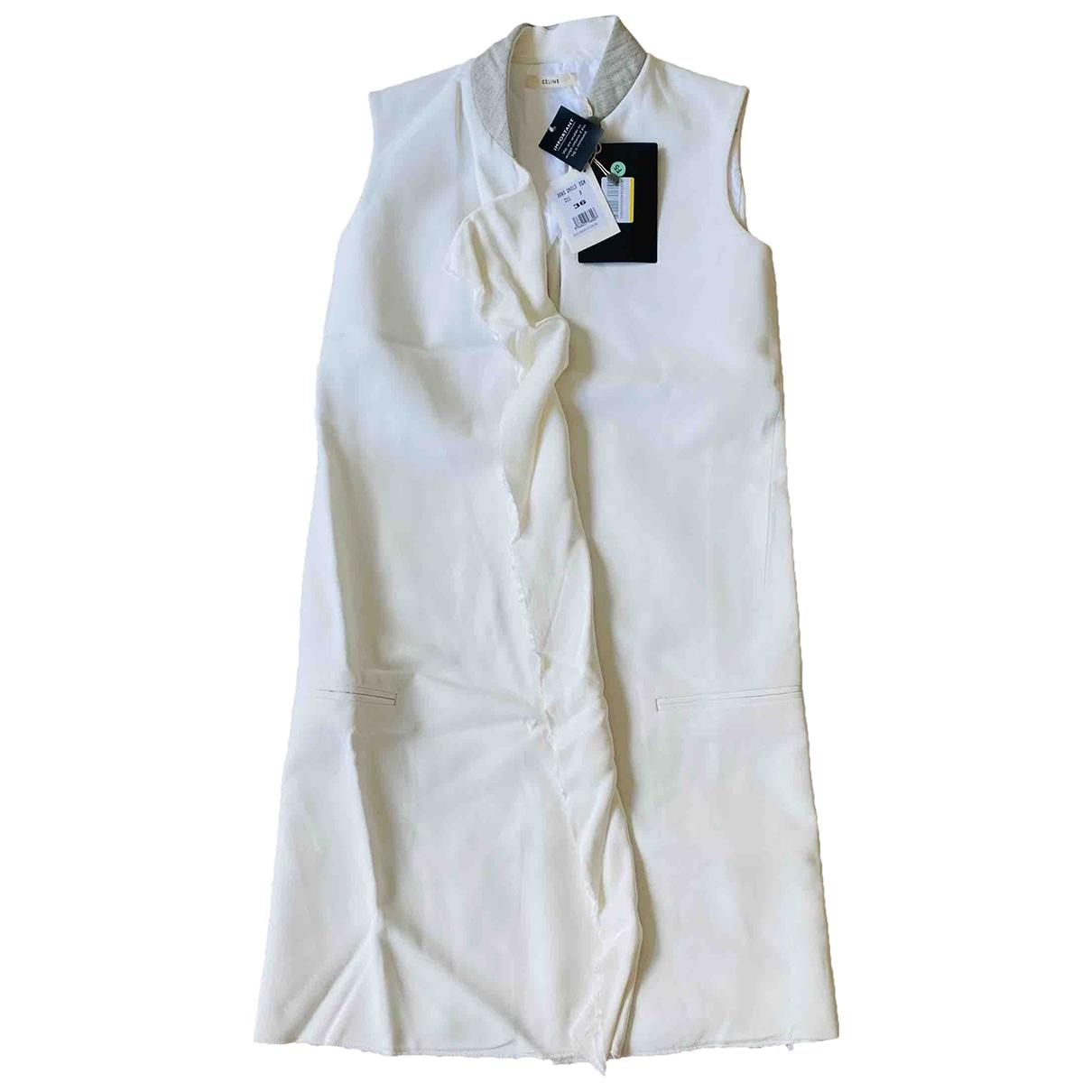 Celine - Manteau   pour femme - blanc