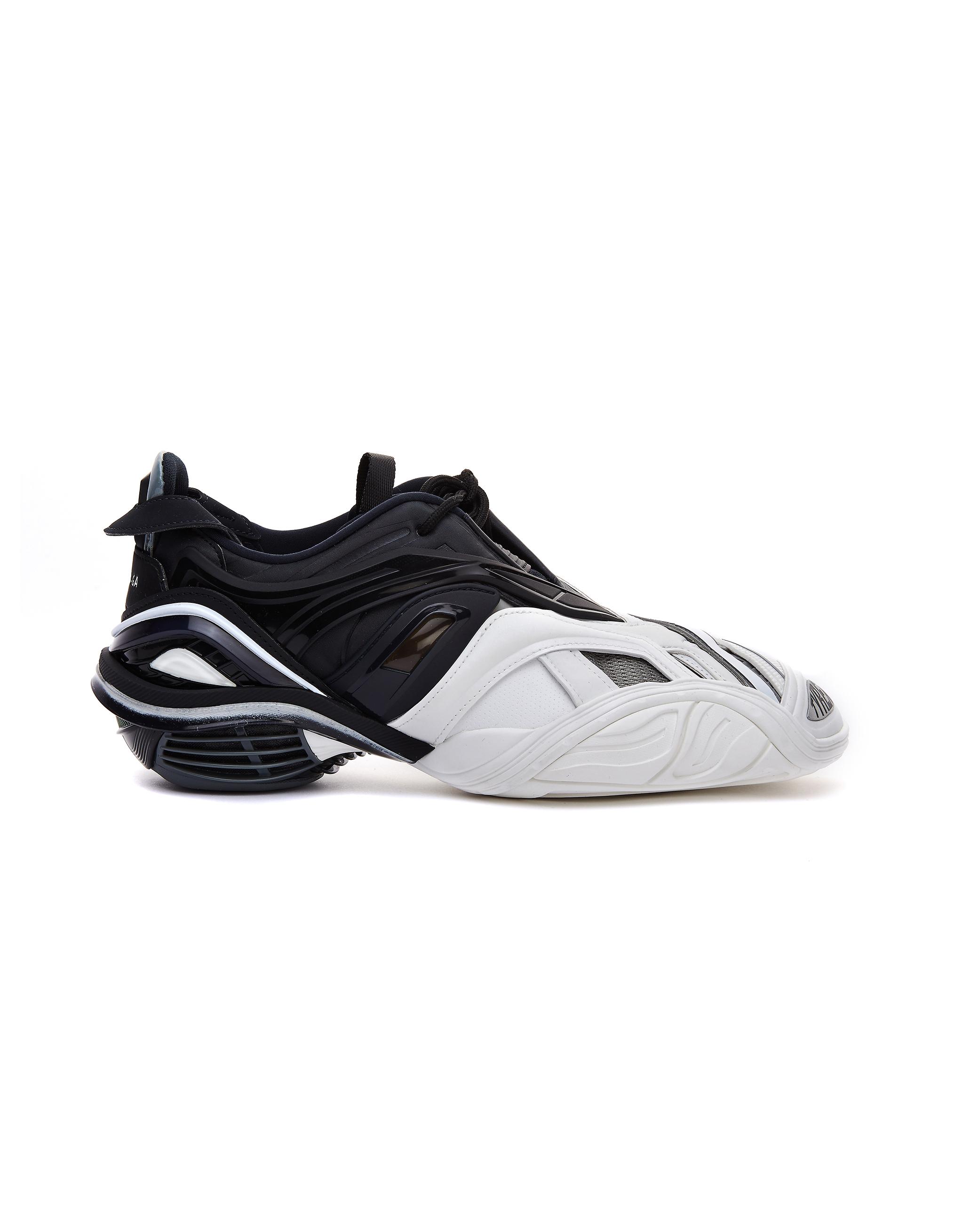 Balenciaga White & Black Tyrex Sneakers