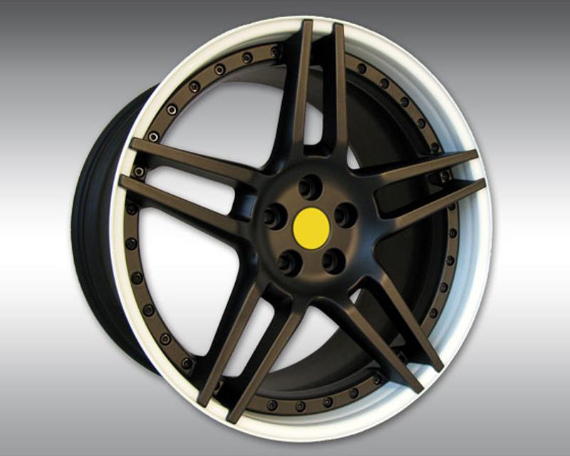 Novitec M4 002 06 NM3 21x12.5 Rear Custom Star | Rim Color Wheel Maserati GranTurismo 08-17