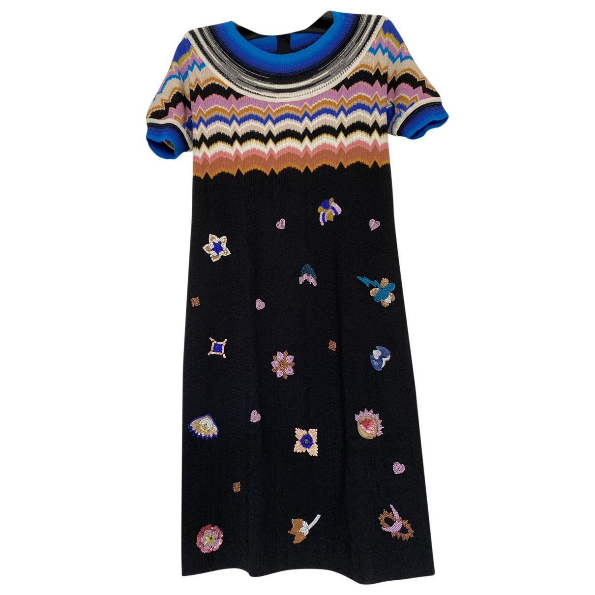 Missoni \N Multicolour Wool dress for Women 38 IT