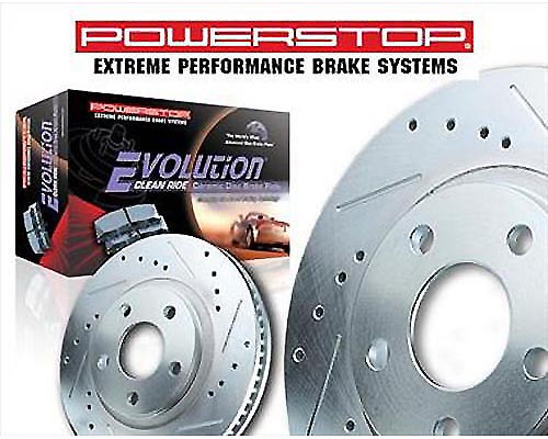 Power Stop K1858-36 Heavy Duty Truck & Tow Brake Kit Rear K1858-36