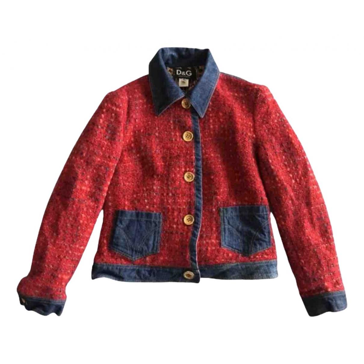 D&g - Veste   pour femme en laine - multicolore