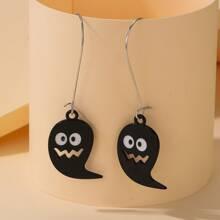 Halloween Ghost Drop Earrings