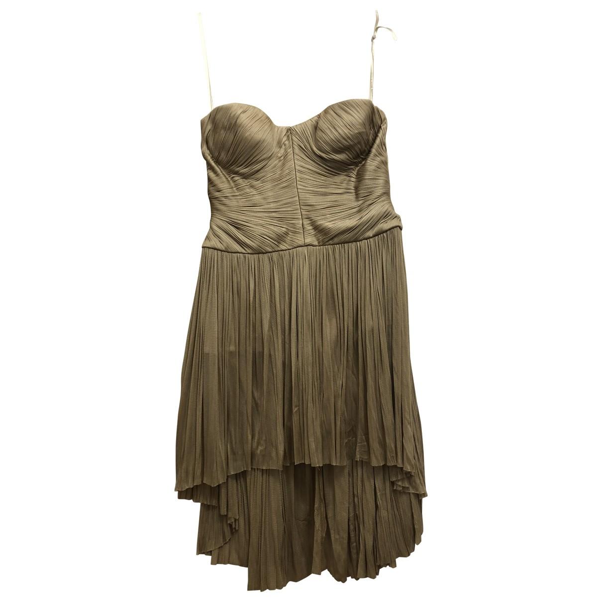 Maria Lucia Hohan \N Beige Silk dress for Women 38 FR