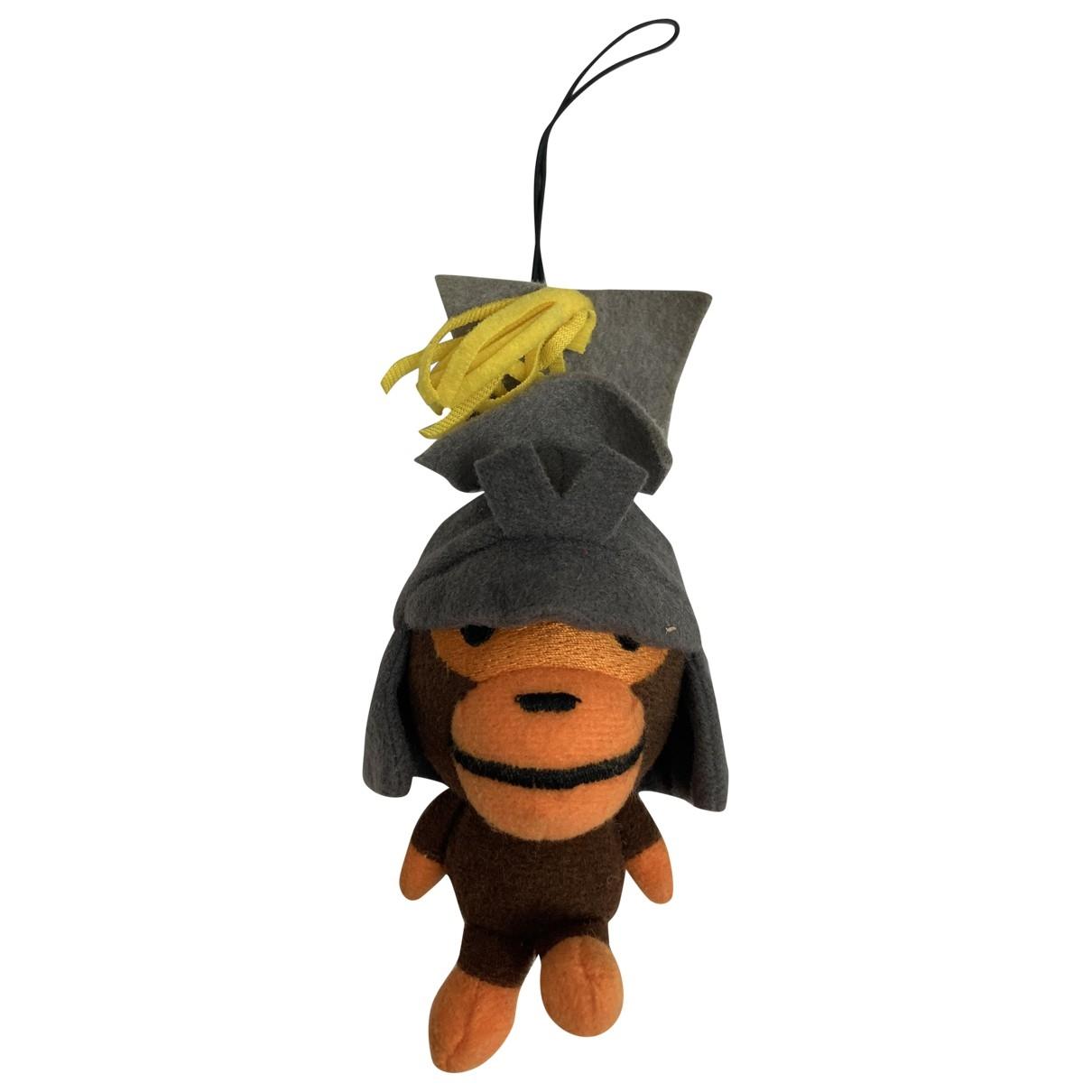 A Bathing Ape - Bijoux de sac   pour femme en toile - orange