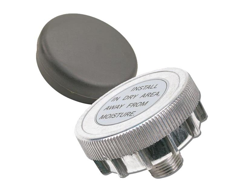 VIAIR Direct Inlet Air Filter Assembly, Metal Housing (1/4