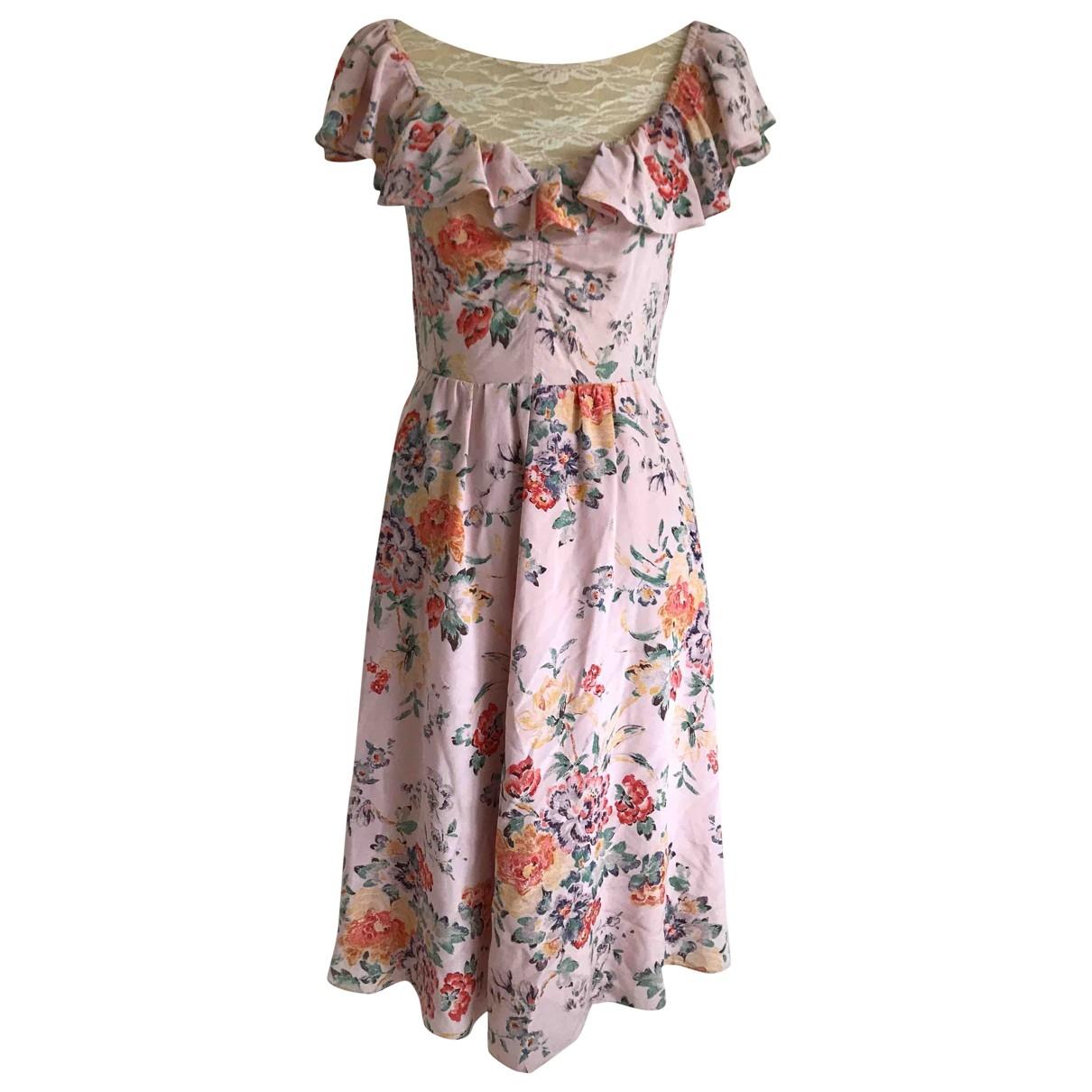 Rebecca Taylor - Robe   pour femme en soie - rose